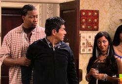 Ep 4x1 - George appears at rapper Chingy's party.jpg