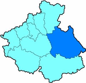 Улаганский район на карте