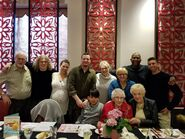 Olive Myhre's 106 Birthday on April 2, 2018 with Family