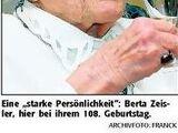 Berta Zeisler