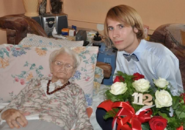 Tekla Juniewicz 112th birthday