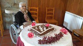 Maria da Encarnacao Sousa 112th birthday