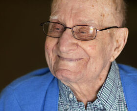 Mark Behrends at the age of 108