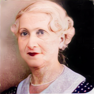 Jeanne Calement C Colourized