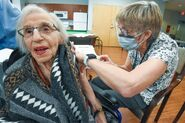 Ruby Cumberland vaccine