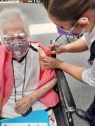 Angela Diaz Millan vaccine
