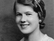 Joyce Wooding young