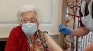 Pat Aldridge vaccine