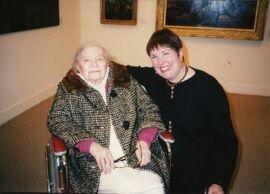 Theresa Bernstein-Meyerowitz and Patricia Burnham in 1995