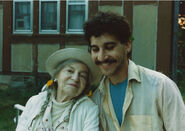 Theresa Bernstein-Meyerowitz & Keith Carlson in early 1980s