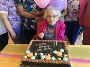 Olive Myhre 108 Birthday 2 April 2020