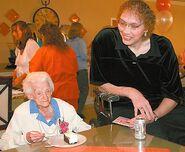 Edna Parker and Sandy Allen