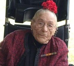 Gertrude Weaver as World's Oldest Person