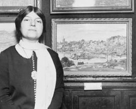 Theresa Bernstein-Meyerowitz in 1924