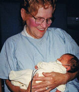 Mary Peel 1994 granddaughter cropped