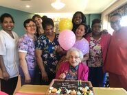 Olive Myhre 108 Birthday on April 2, 2020