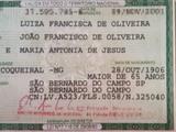 Luiza Francisca de Oliveira