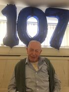 John Tinniswood 107th birthday