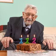 Bob Weighton 112th birthday