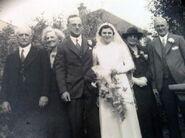 Lilian Priest wedding