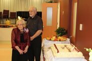Olive Myhre 105 Birthday, April 2, 2017