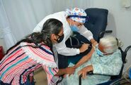 Claudina Higuita de Robledo vaccine
