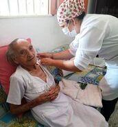 Antonia Santa Cruz vaccine
