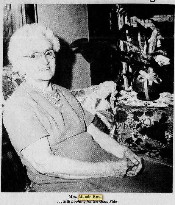 Maude Ross