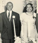 Herbert and Zelmyra Fisher wedding