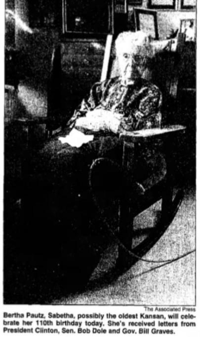 Bertha Pautz