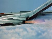 Horizontal jets.