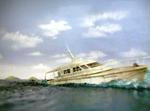 Speedboat (splashdown)