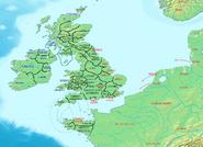 Britain 500 CE