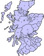 Historische Counties von Schottland