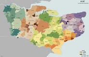 Kent Administrative Map 1832