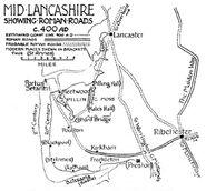 Lancashire um 400