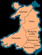 Wales im Frühmittelalter