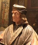 Posthumes Portrait Heinrich VII