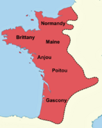 Angevinisches Reich ca 1200
