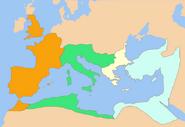 Imperium constantius constantine constans