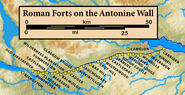 Antoniuswall Festungen