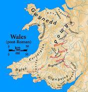 Wales nachrömische zeit