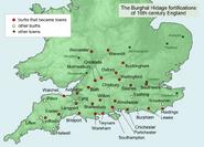 Angelsächsische Burhs