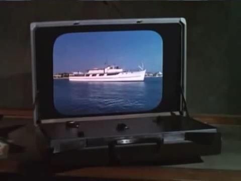 Briefcase TV Set