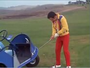 Magnetic-golf-ball