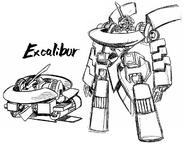 Getter Robo Hien Excalibur
