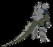 Mechassaurus Gigas Rear