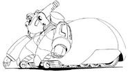 Shin Getter Robo 3 Armagg