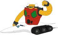 Getter Robo Getter-3