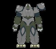 Mechassaurus Gigas Front